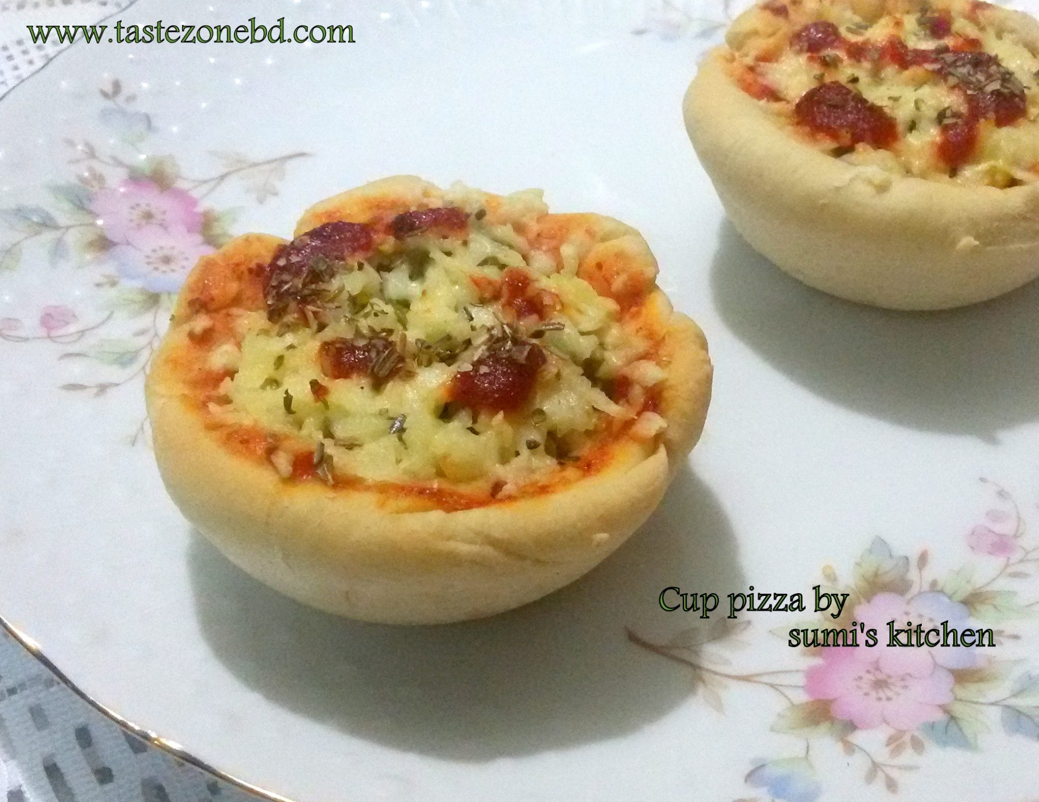 Cup pizza