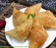 Triangle shahi paratha