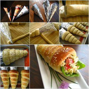 DIY-bread-cone