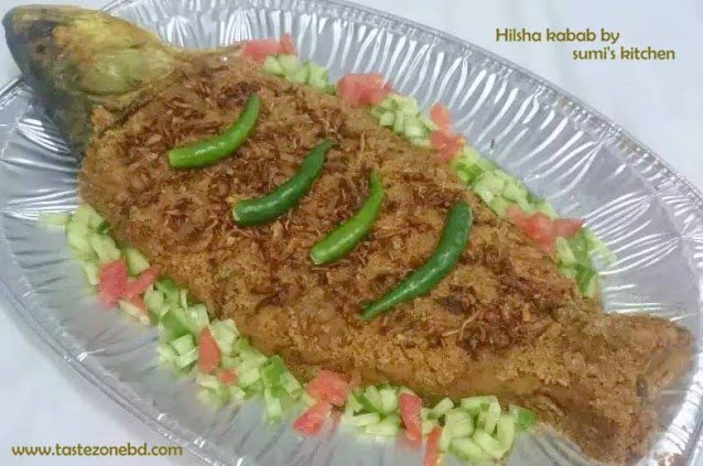 Hilsha kabab