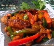 Nuty fish salad