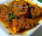 Fish egg curry