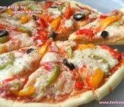 Cheesy domino's pizza