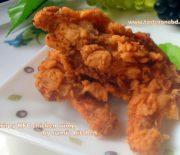 Crispy KFC chicken wings