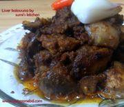 Chicken liver kalovuna