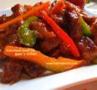 Chinese Szechuan beef