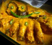 whole vapa ilish(steamed hilsha)